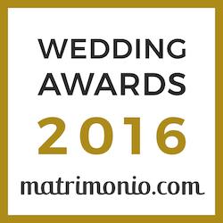 Badge Fotografo wedding awards 2016