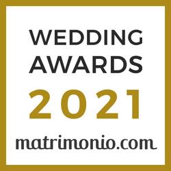 Badge Fotografo wedding awards 2021