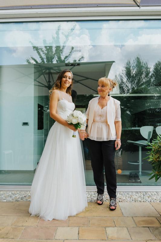 Mamma di sposa Valentina