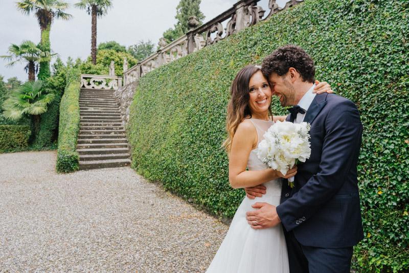 Matrimonio con vero amore in villa