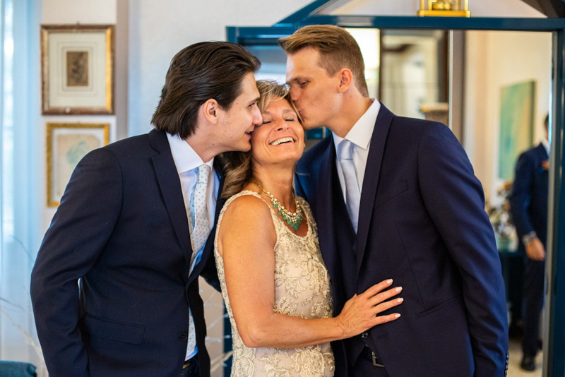 Matrimonio genitori sposa