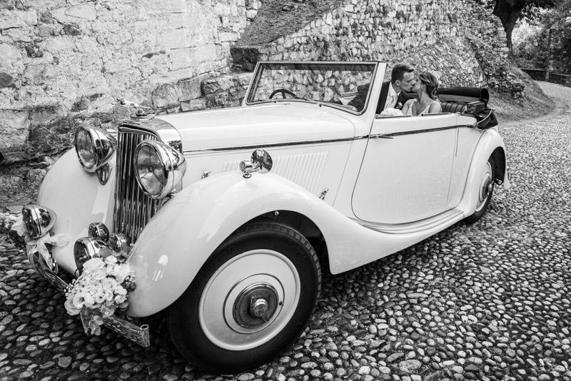 Noleggio auto matrimonio alla Rocca